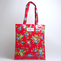 OILCLOTH BOOK BAG